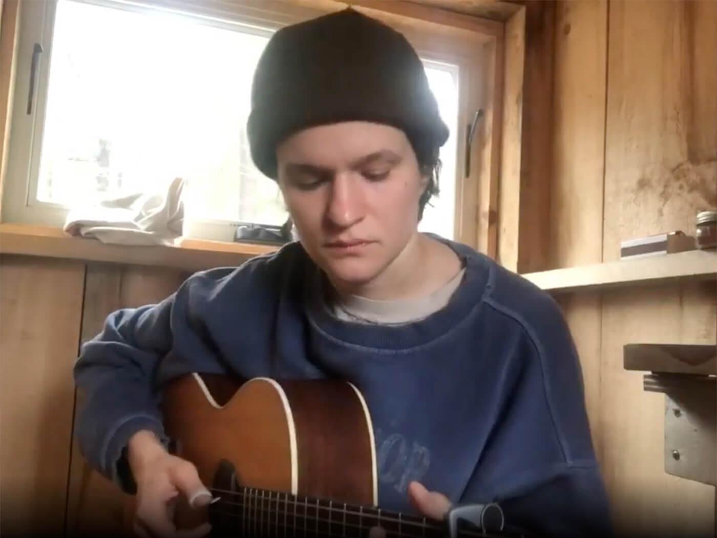 "Watch Big Thief's Adrianne Lenker cover John Prine's ""Summer's End"""