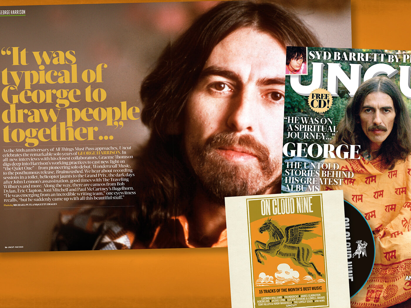 "George Harrison: ""He was on a spiritual journey"""
