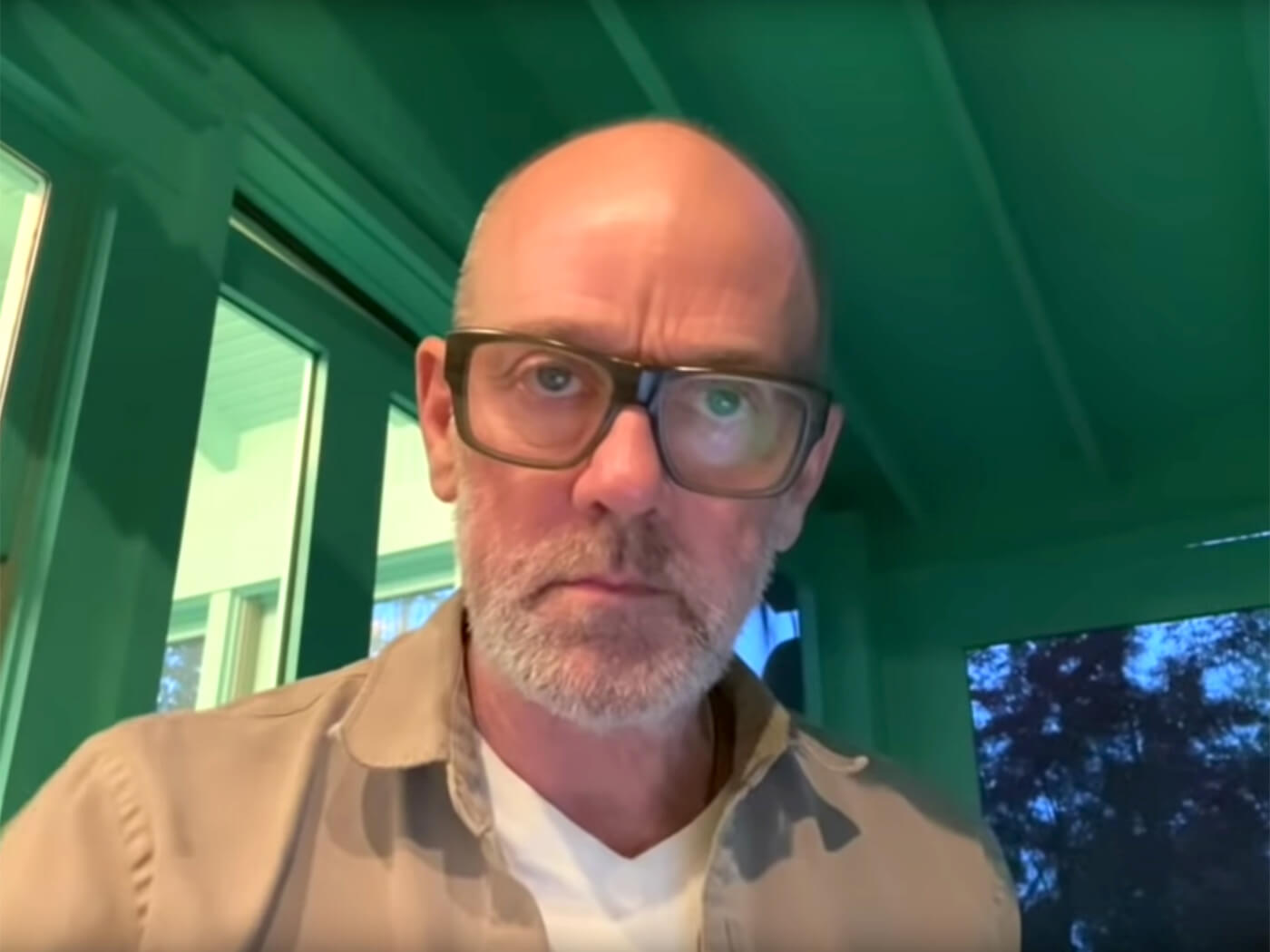 """Watch Michael Stipe perform new song, """"No Time For Love Like Now"""""""