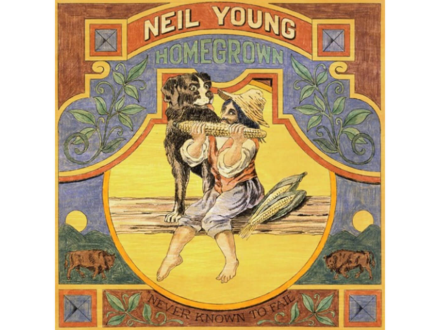 Neil Young's Homegrown is coming for Record Store Day