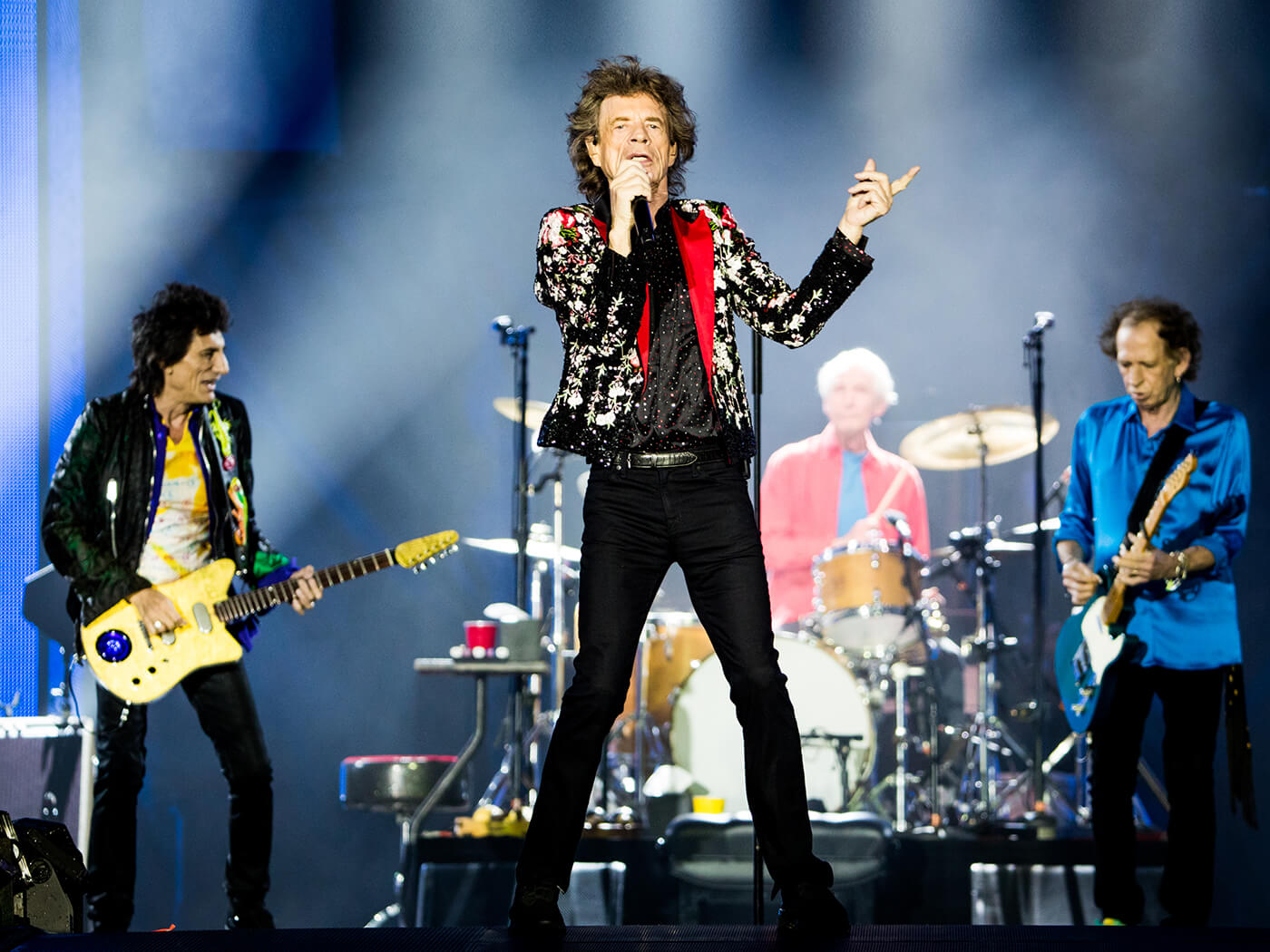 """Hear The Rolling Stones' new song, """"Living In A Ghost Town"""""""