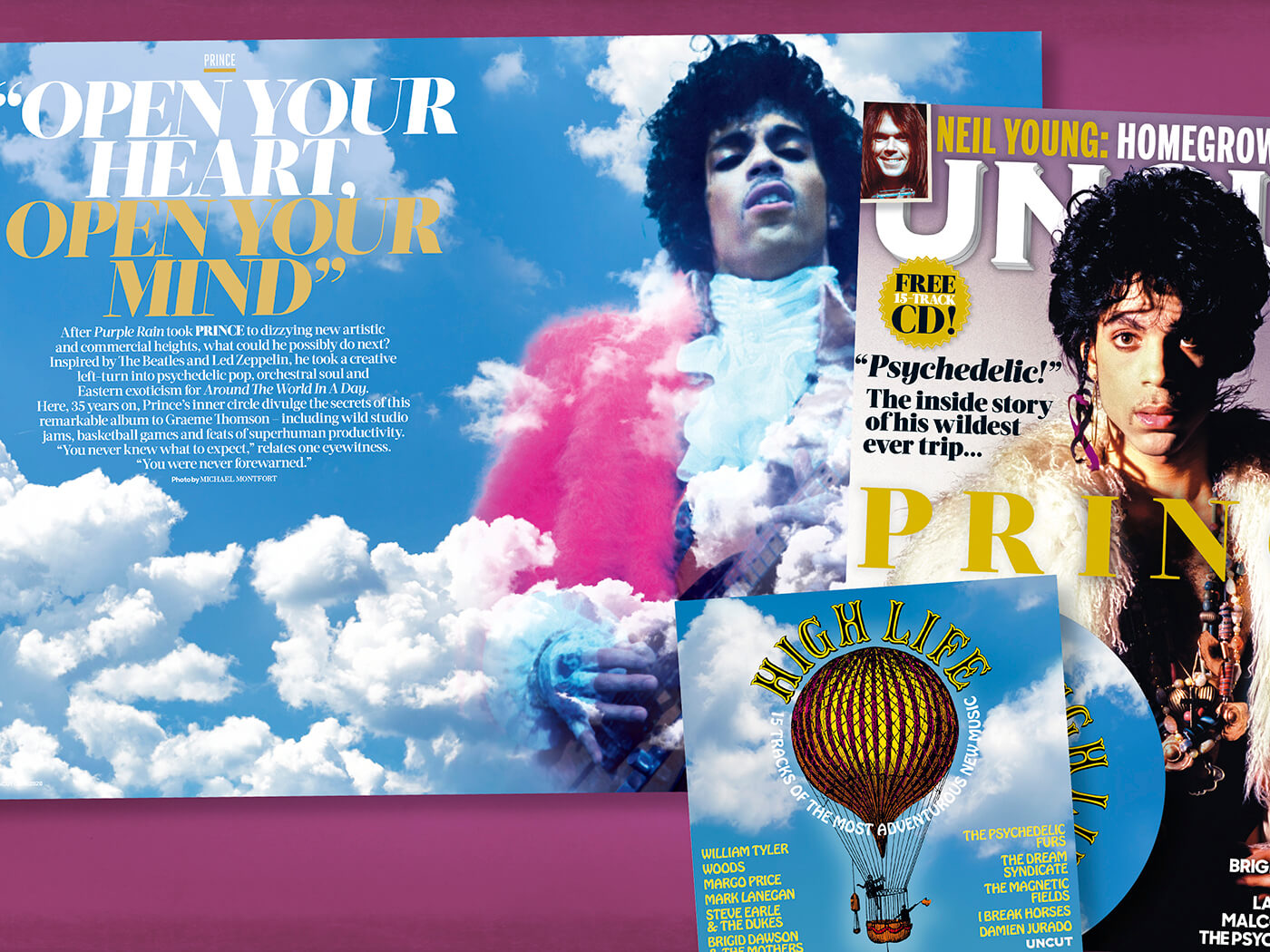 How Prince made his psychedelic classic, Around The World In A Day