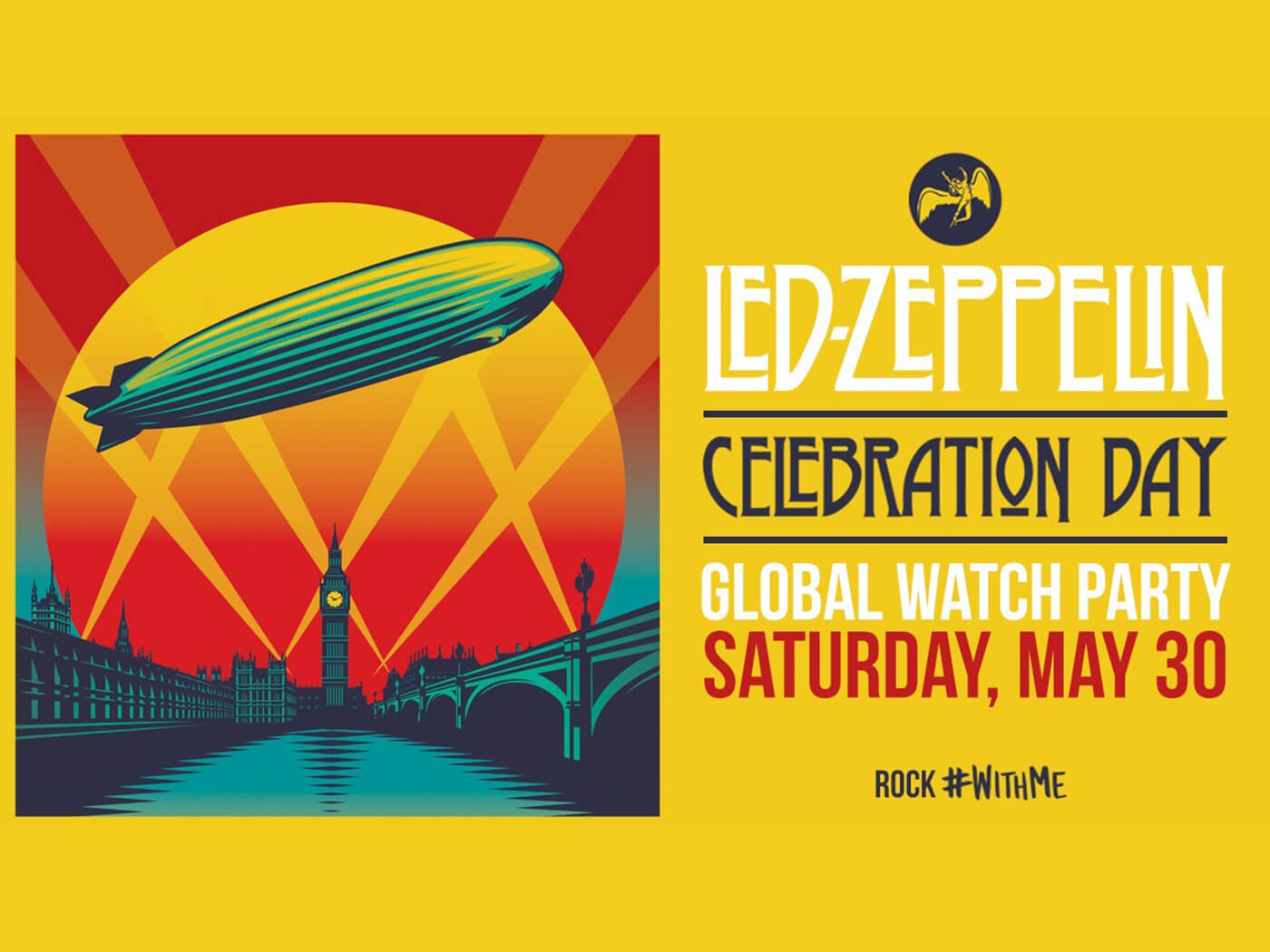 Led Zeppelin's Celebration Day to stream on YouTube this weekend
