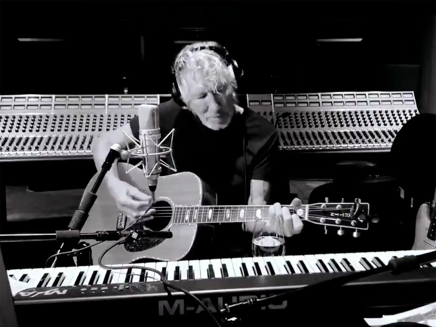 "Watch Roger Waters and band play a socially distanced version of ""Mother"""