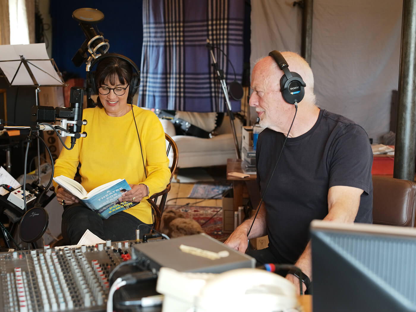 David Gilmour to release new music via Polly Samson's audiobook