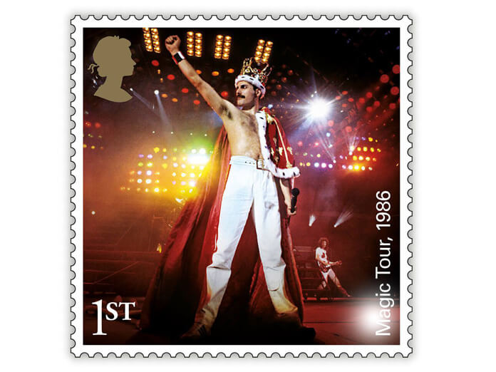Queen to appear on postage stamps