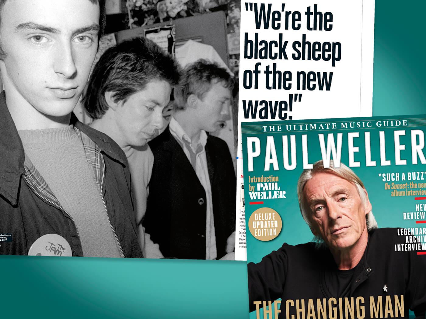 Introducing the Deluxe Ultimate Music Guide to Paul Weller
