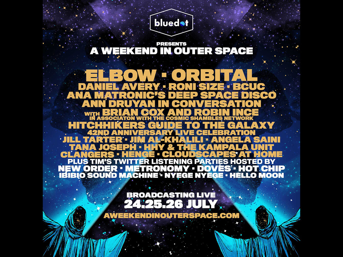 Bluedot festival to host virtual event this weekend