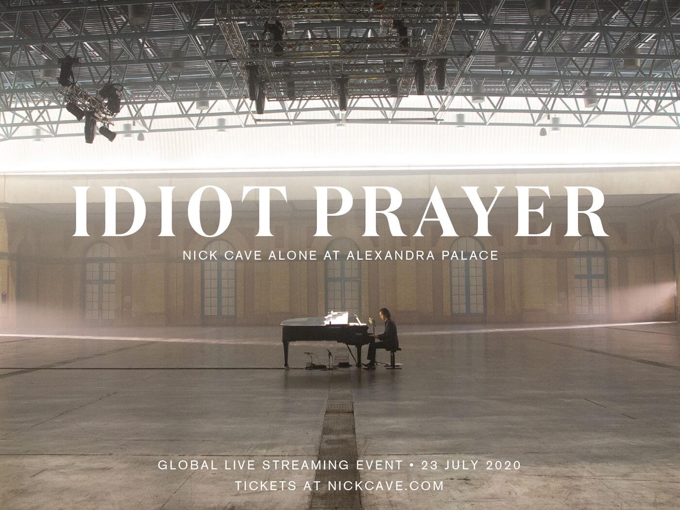 Nick Cave announces livestream of solo piano performance