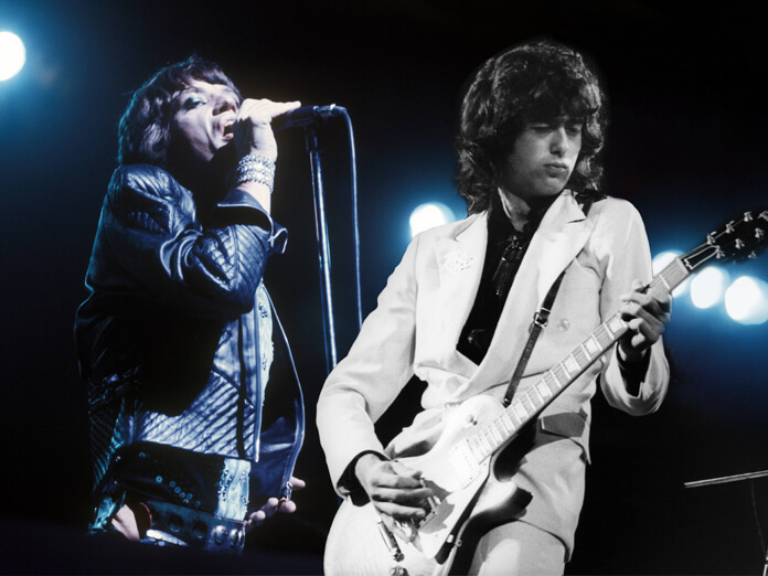 """Hear The Rolling Stones' """"Scarlet"""", featuring Jimmy Page"""