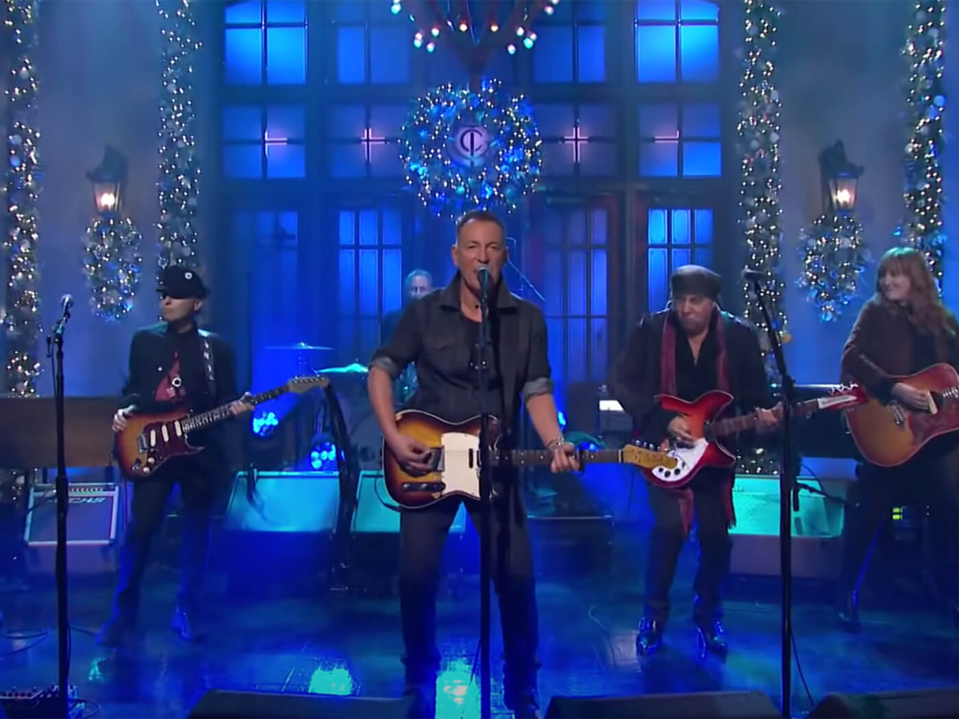 Watch Bruce Springsteen The E Street Band Play Live On Snl Uncut