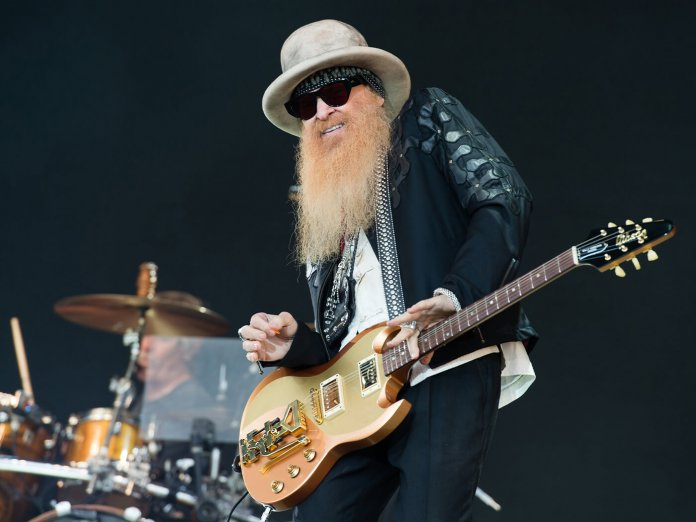 Billy Gibbons new album Hardwire new single My Lucky Card