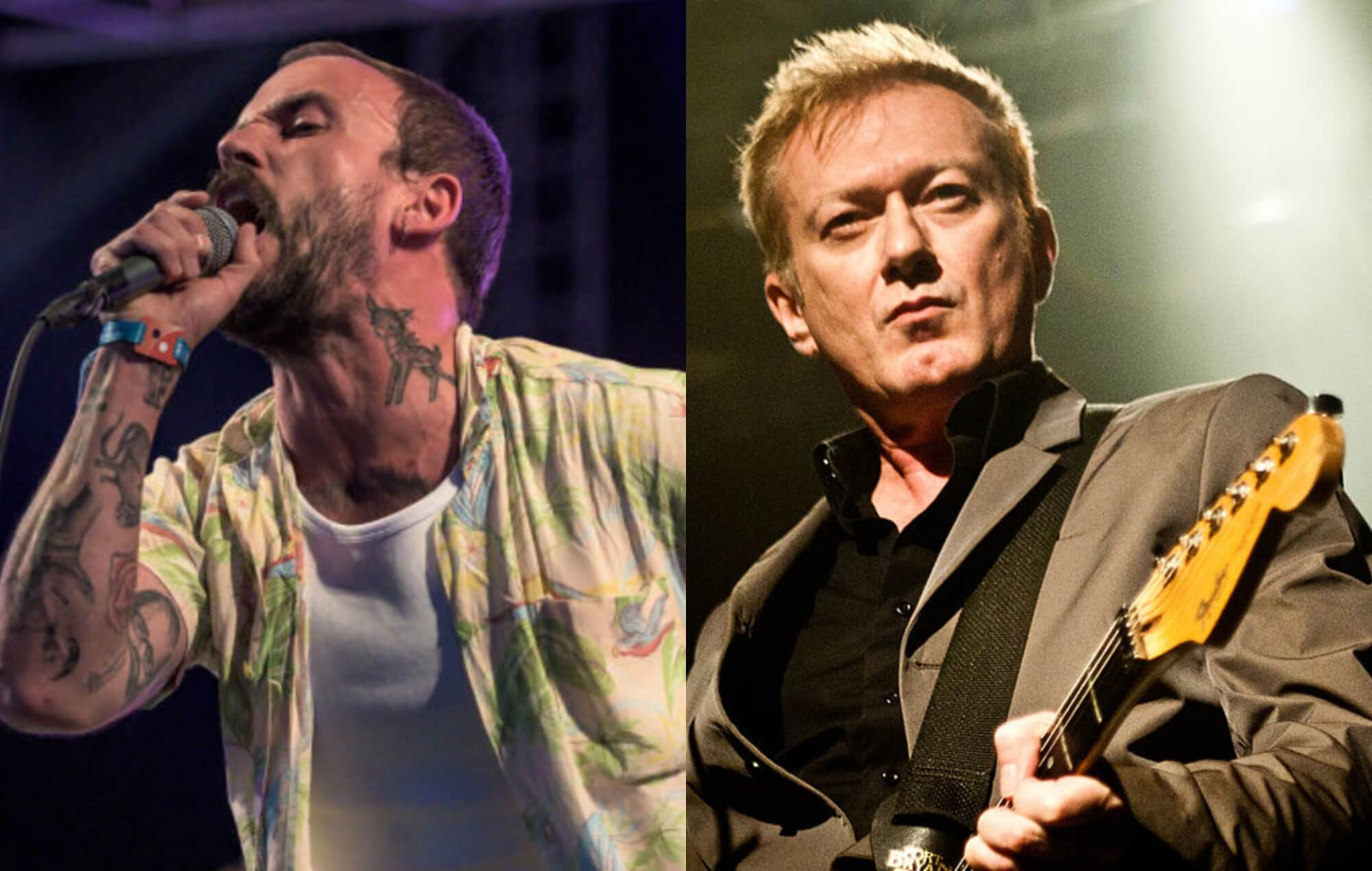 DLES' Joe Talbot, Gang of Four's Andy Gill
