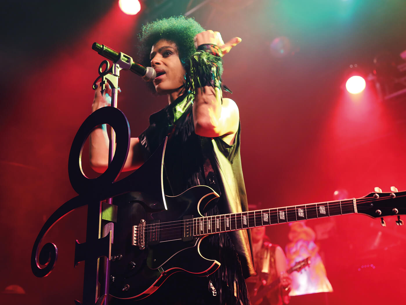 Prince in The Electric Ballroom