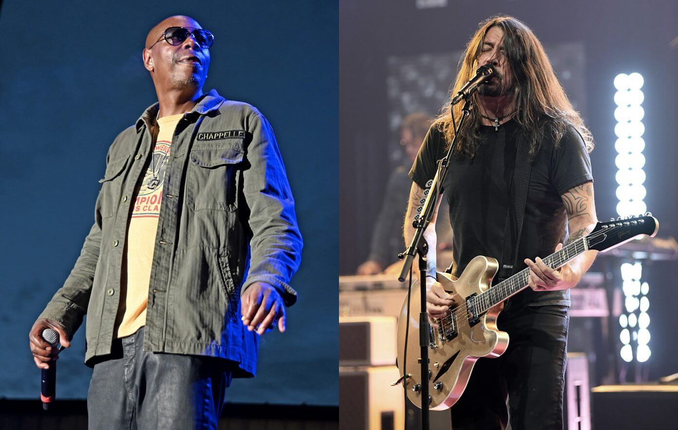 Watch Foo Fighters cover Radioheada    s  quot Creep quot  live at Madison Square Garden with Dave Chappelle