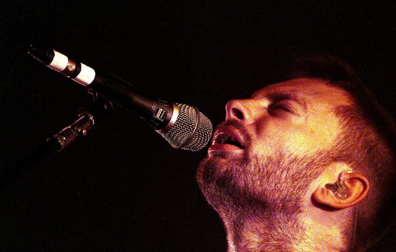 Thom Yorke Radiohead 2000