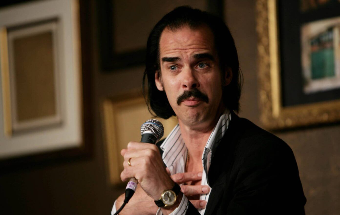 Nick Cave porn star mustache