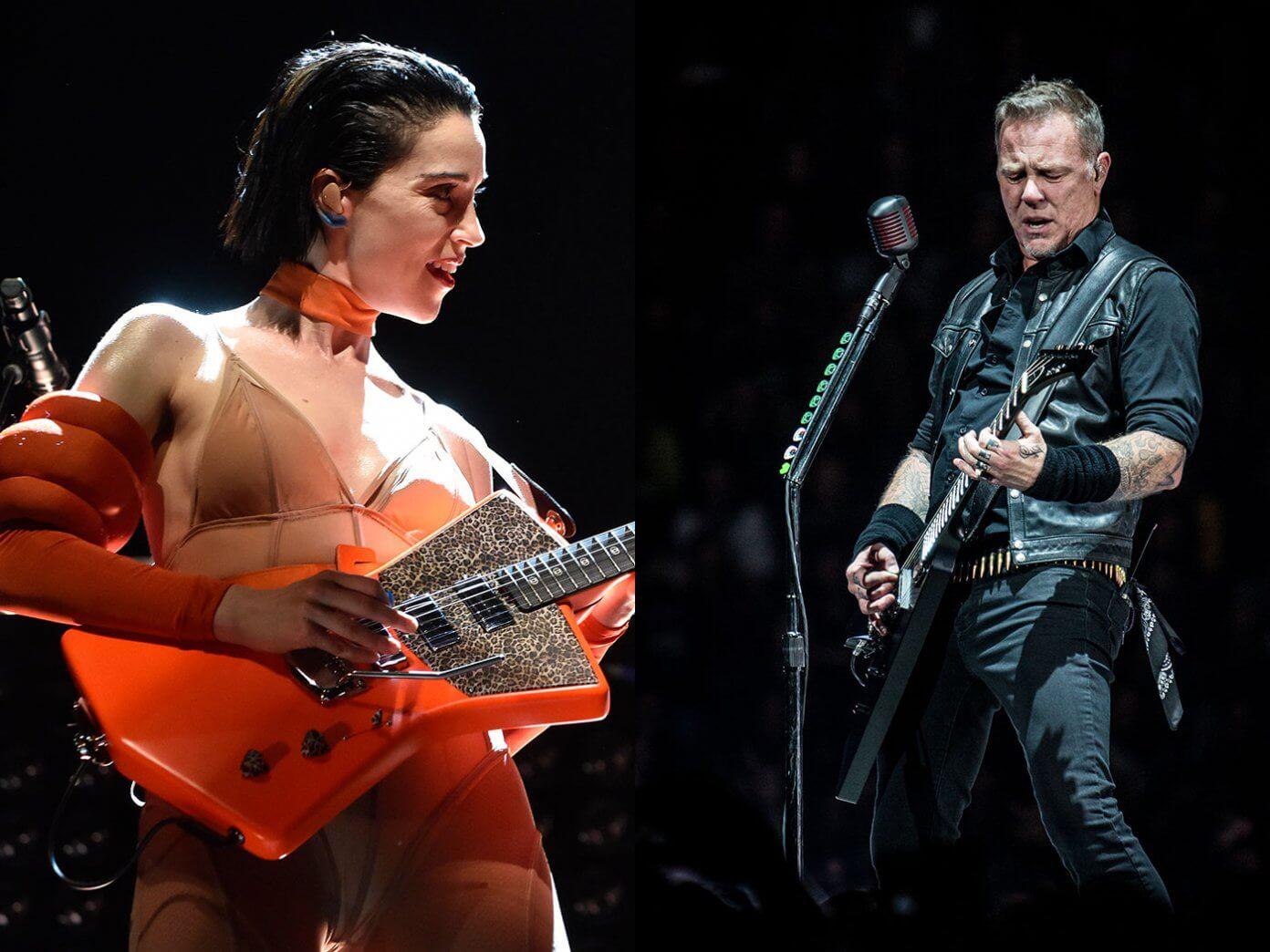 St Vincent Metallica Sad But True