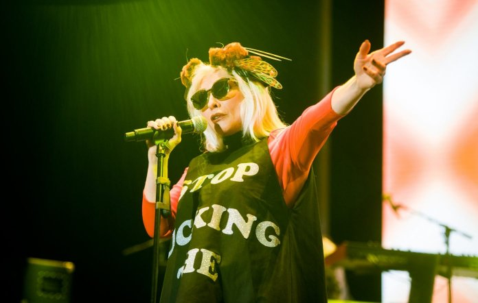 Debbie Harry gives update on Blondie's new album