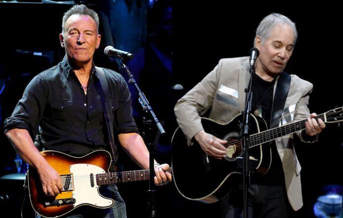"""Bruce Springsteen, Paul Simon Jennifer Hudson """"homecoming"""" concert Central Park New York sometime this summer."""