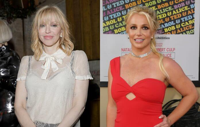 Courtney Love's acoustic cover of Britney Spears' 'Lucky'