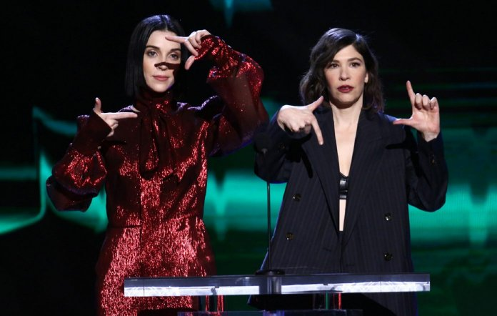 St. Vincent and Sleater-Kinney's Carrie Brownstein