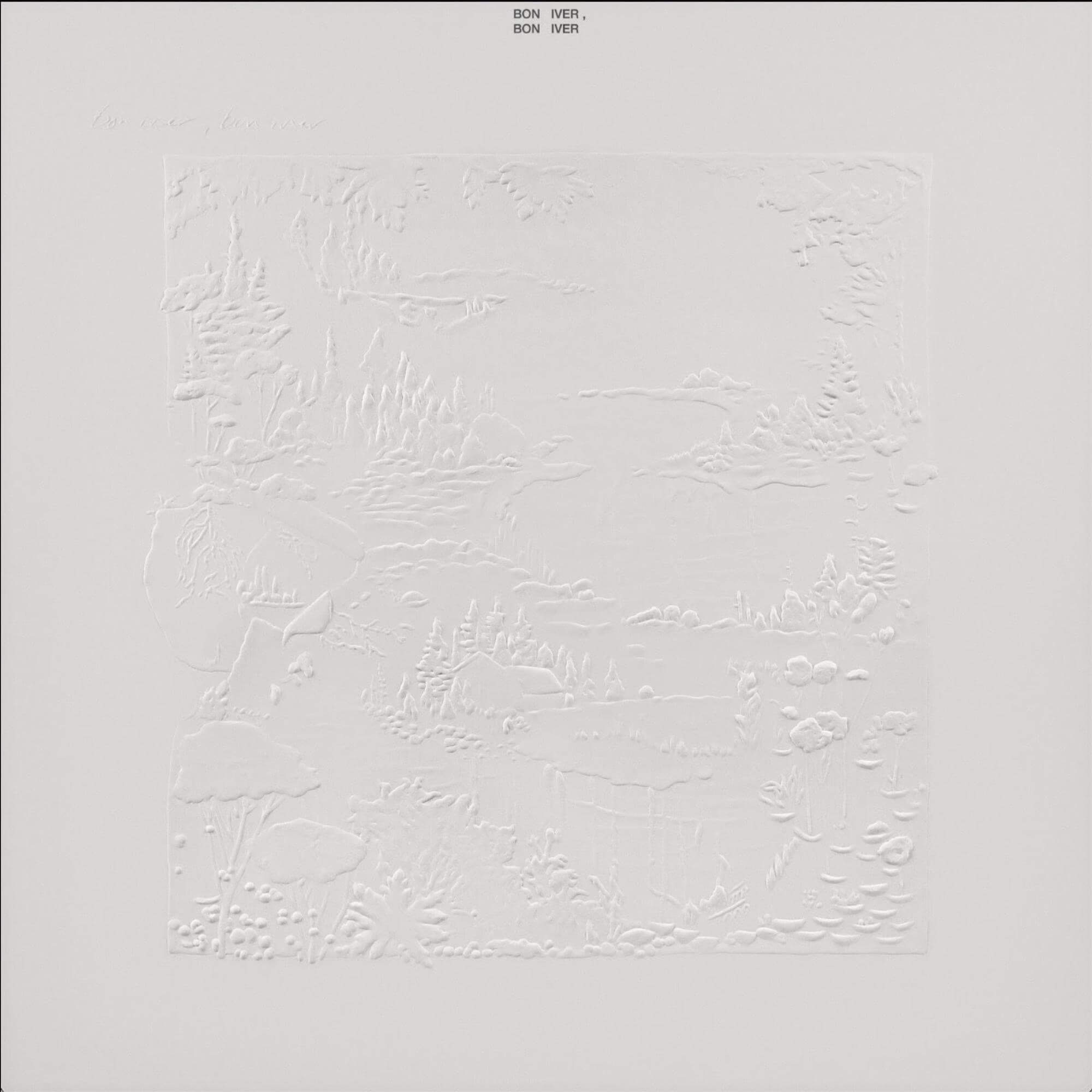 Bon Iver album cover