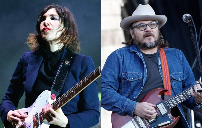 Sleater-Kinney's Carrie Brownstein and Wilco's Jeff Tweedy