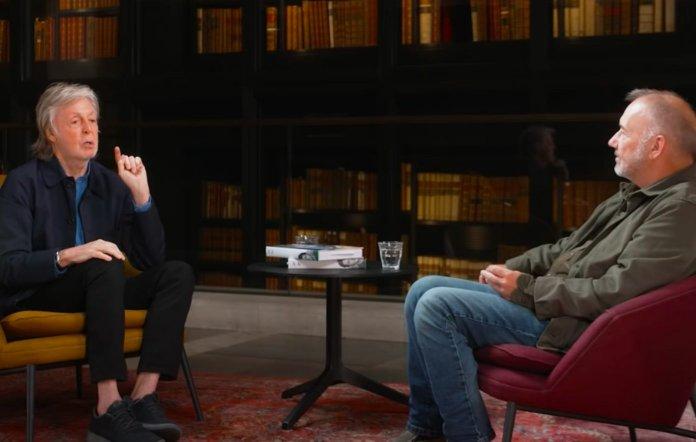 Paul McCartney and Bob Mortimer
