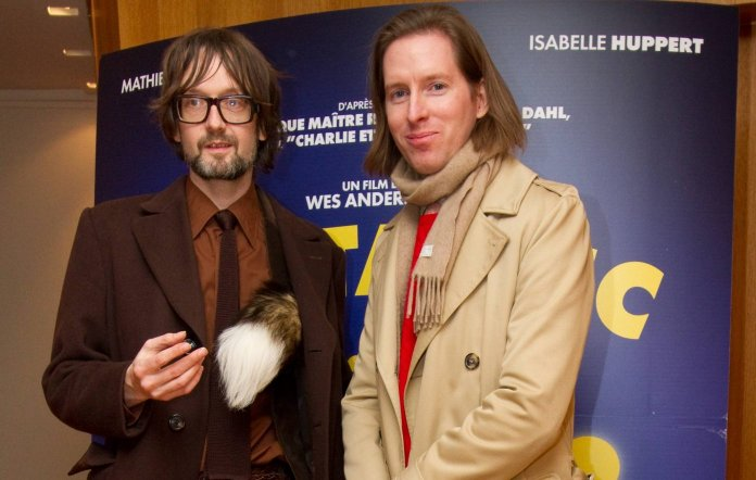 Jarvis Cocker and Wes Anderson