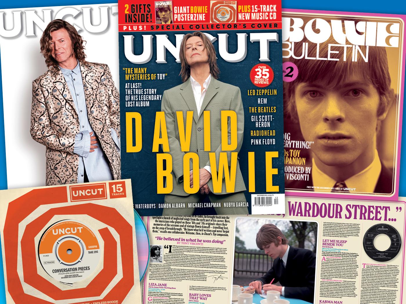 Inside Uncut's new free posterzine, Bowie Bulletin No. 2