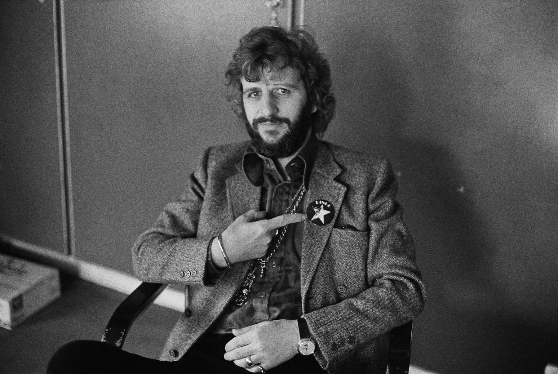 Ringo Starr in 1973