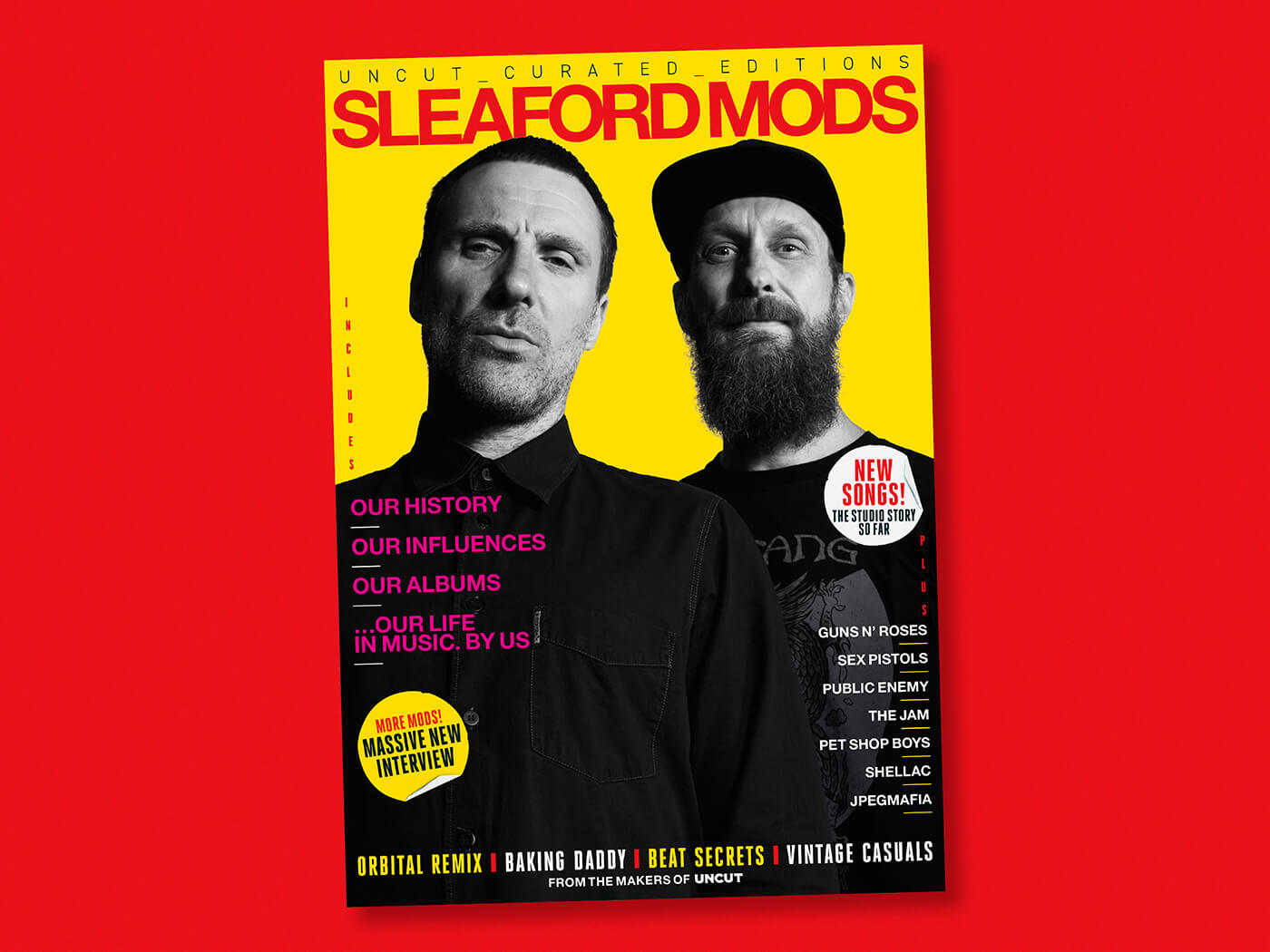 Introducing our latest online exclusive: Curated By Sleaford Mods